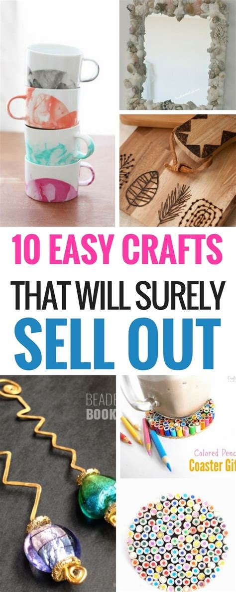 crafts can make and sell best 25 crafts to make ideas on easy crafts