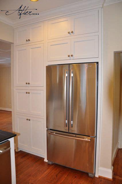 pantry  fridge  cabinets  budget kitchen