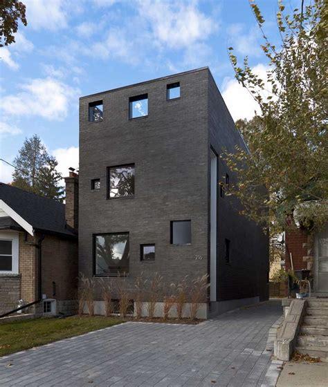 Charcoal House Toronto Home E Architect