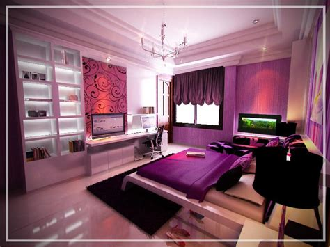 bedroom cute decoration for teenager room ideas purple awesome bunk beds for kids with scary green blood monsters