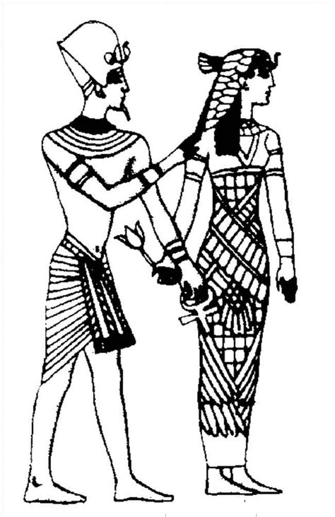 Ancient Egyptian Coloring Pages - Coloring Home