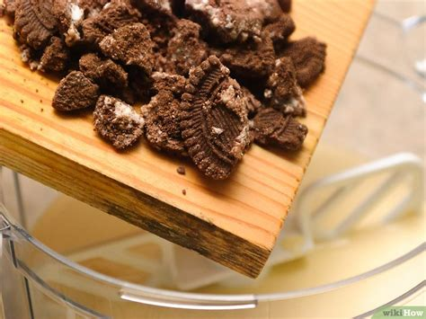 bahan untuk membuat ice cream oreo 3 cara untuk membuat es krim oreo wikihow