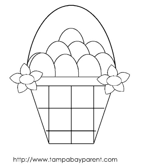 coloring pages of easter baskets easter coloring pages june 2010