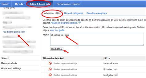 adsense ads block ads on google adsense
