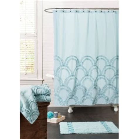 ruffle shower curtain bed bath and beyond buy ruffle shower curtain from bed bath beyond