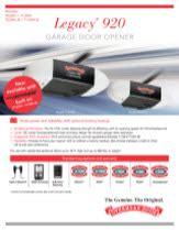 Legacy 174 920 Chain Best Overhead Door Overhead Door Legacy Owners Manual