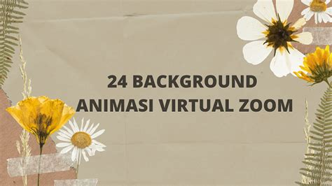 background zoom animasi   merubah suasan meeting