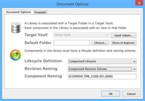 managed components in an altium vault online documentation