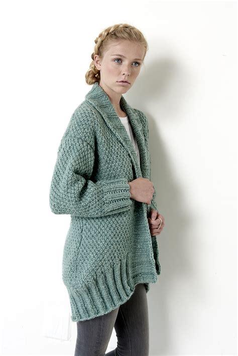 pattern wool cardigan cocoon cardigan patterns yarnspirations this cardi