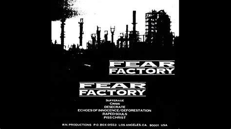 Fear Factory 1 fear factory fear factory 1991 demo