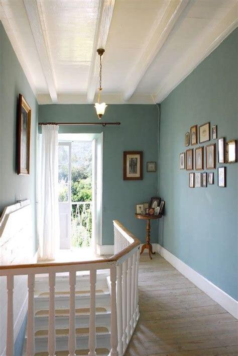 achilleio house rental stairs  landing hallway