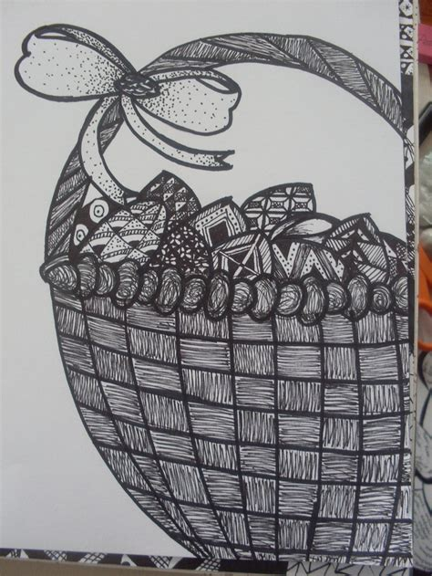 zentangle basket pattern 1000 images about zentangle easter on pinterest easter