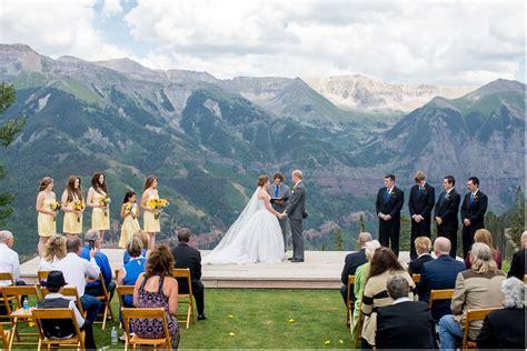 Wedding Colorado by Telluride Colorado Wedding Mountain Wedding Colorado