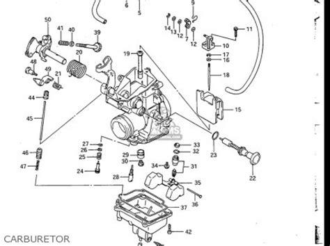 Suzuki Dr200 Parts Suzuki Dr200 1986 1988 Usa Parts List Partsmanual Partsfiche