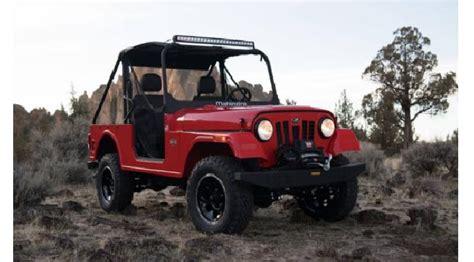 Mobil Jeep Road Murah mahindra offroad masuk as lebih murah dari jeep wrangler