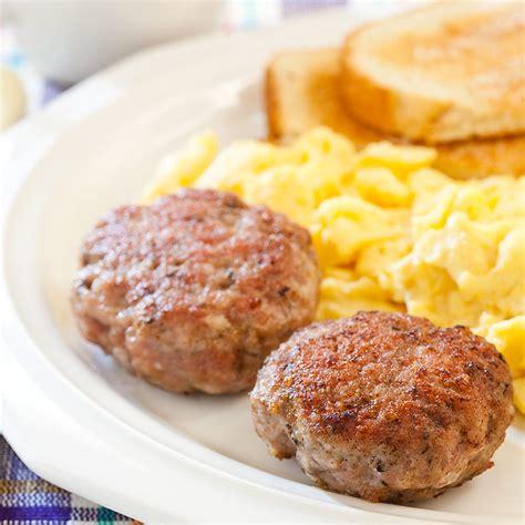 Handmade Breakfast - breakfast sausage