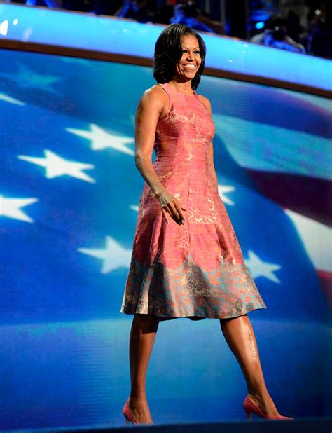 Yea Or Nay Tracy Reese For The American Legacy Foundation 3500 At Avoncom by Flotus Dazzles Dnc In Tracy Reese Dress Ny Daily News