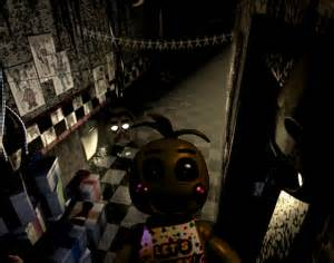 Fnaf 2 in fnaf 3 toy chica at cam 08 by abuut to die 2 on deviantart