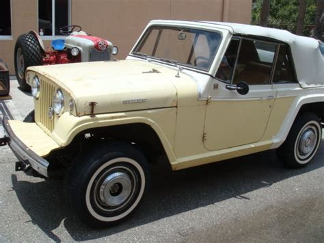 1968 Jeep Commando White Convertible For Sale