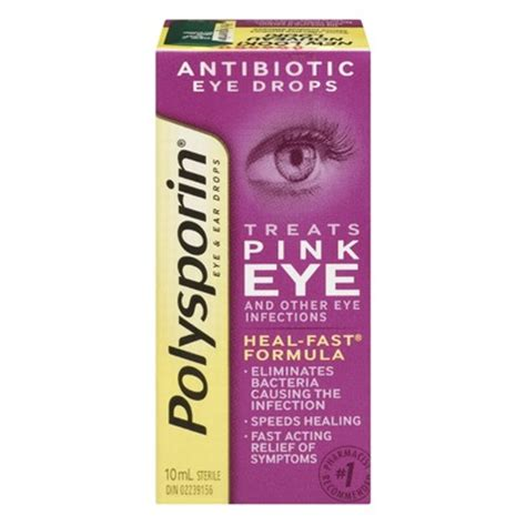 antibiotic eye drops for dogs buy polysporin eye ear drops from canada at well ca free shipping