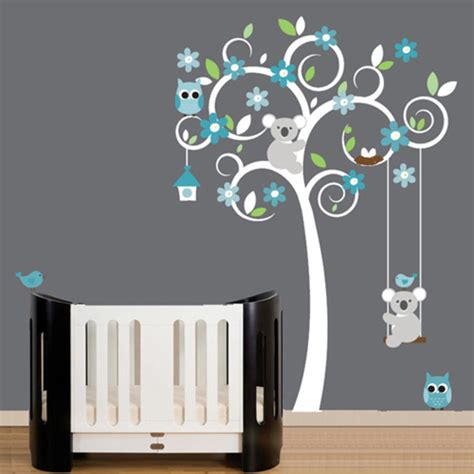 Baby Wall Decals For Nursery Baby Nursery Wall Decal Photo