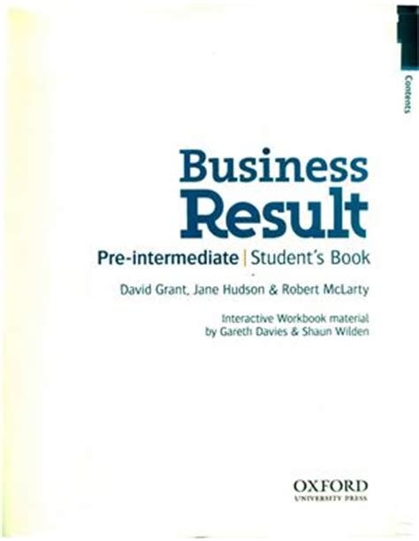 business result pre intermediate students business result pre intermediate student s book pdf