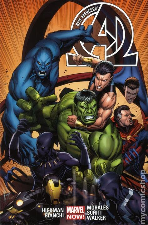 avengers by jonathan hickman new avengers comic books issue 2