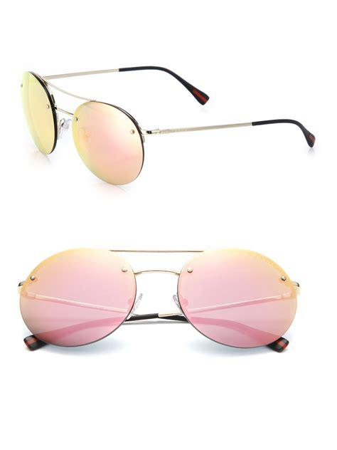 Bm 385 Zunnah 3in1 Pink prada 56mm metal sunglasses in pink for lyst