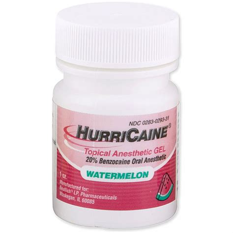 Supplier Gel hurricaine topical anesthetic 1 oz jar gel anesthetics topical anesthetics supplies