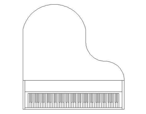 17 best images about piano on a drawing shape