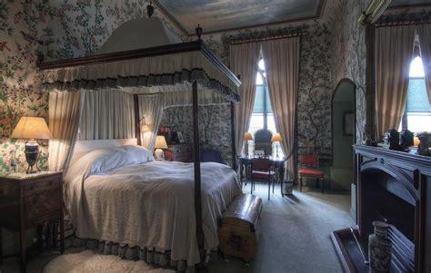 bedroom in castle bedrooms eastnor castle herefordshire