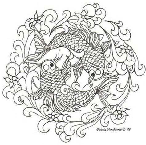koi fish black and white tattoo designs japanese fish designs free downloadtattoo jockey