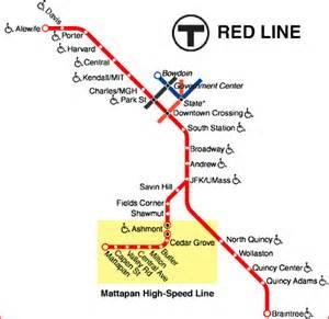 Mbta Map Red Line by Railroad Net Pcc Survivors The Mbta S Mattapan High