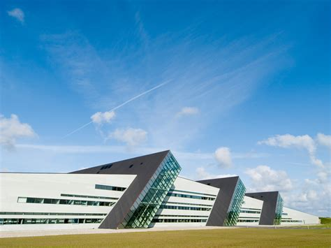 facade technology of the future at the home of fiberline fiberline composites
