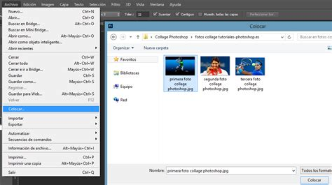 como insertar imagenes en latex tutoriales photoshop crea tu propio collage profesional