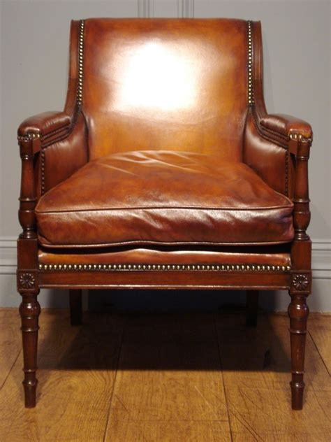 good reading chairs sold pair of studded leather library reading armchairs