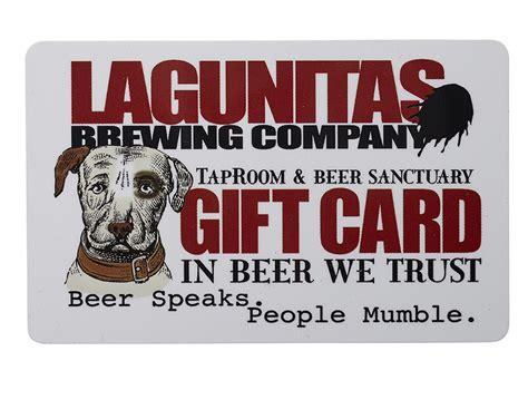 gift card 150 - Lagunitas Gift Card