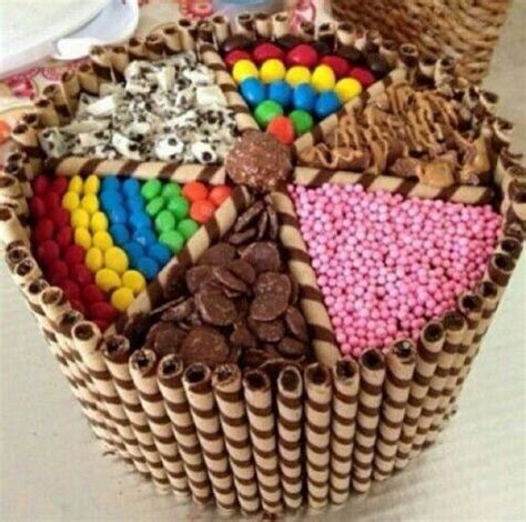 imagenes de tortas variadas candy cake torta decorada con dulces postres decorados