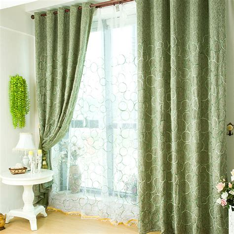 Green Color Curtains 28 Images Green Living Room