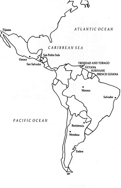 coloring page map of central america pics for gt north central and south america map