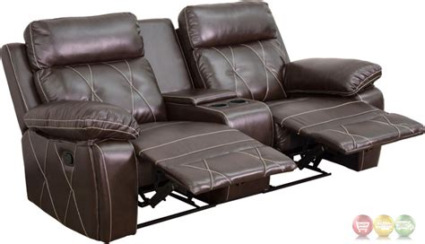 reclining seat movie theater reel comfort 2 seat reclining brown leather theater seats