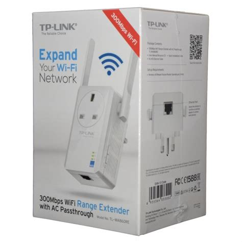 Tp Link300mbps Wi Fi Range Extender With Ac Passthrough Tl Wa860re tp link tl wa860re 300mbps wi fi range extender with ac passthrough