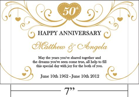 Golden Wedding Anniversary Quotes by Golden Anniversary Quotes For Parents Quotesgram