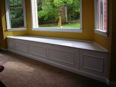 window with bench decoration multifuntional design for bay window seat