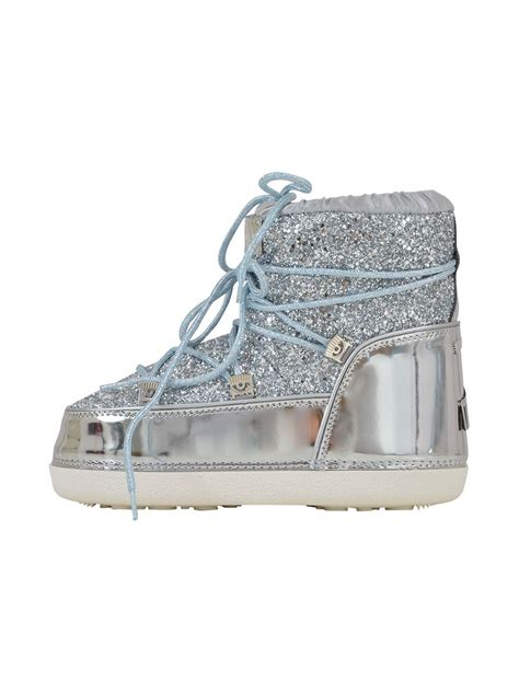 chiara ferragni glitter boots chiara ferragni chiara ferragni glitter moon boot