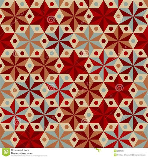 pattern warm color anise stars pattern in warm colors stock image image