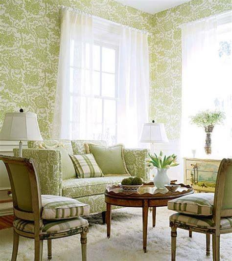 green living room wallpaper c 243 mo decorar una casa con papel pintado fotos de casas