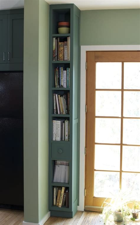 Kitchen Remodel Ideas Small Spaces by Best 25 Skinny Bookshelf Ideas On Pinterest Book