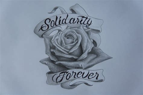 rose with banner tattoo designs design by callum ogborn on deviantart