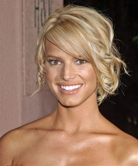 up hairdos back and front jessica simpson updo medium curly formal wedding updo